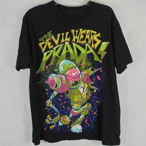 The Devil wears Prada Band Tee Shirt Black Size L